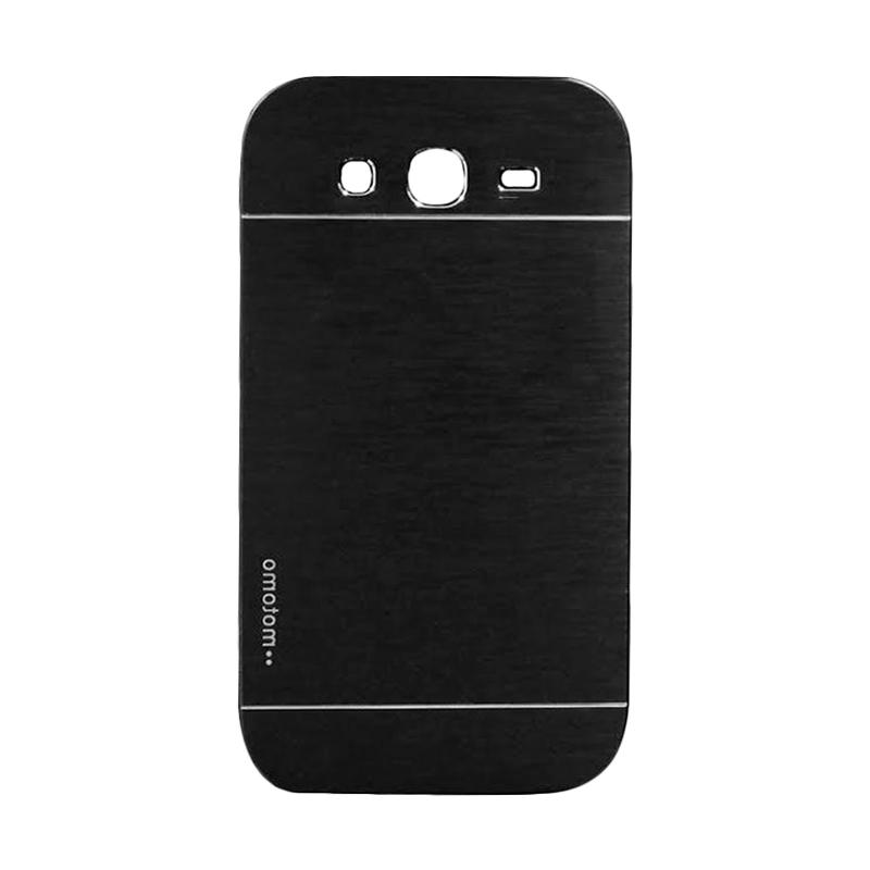 Motomo Metal Hardcase Backcase Casing for Oppo Samsung Galaxy Ace 4 or G313 - Black