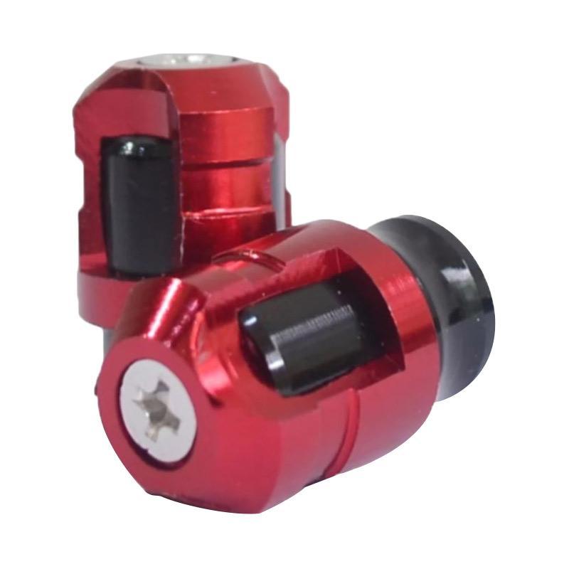Jual Raja Motor NitexTutup Pentil Aksesoris Motor - Merah [TUP9022-Merah] Online -