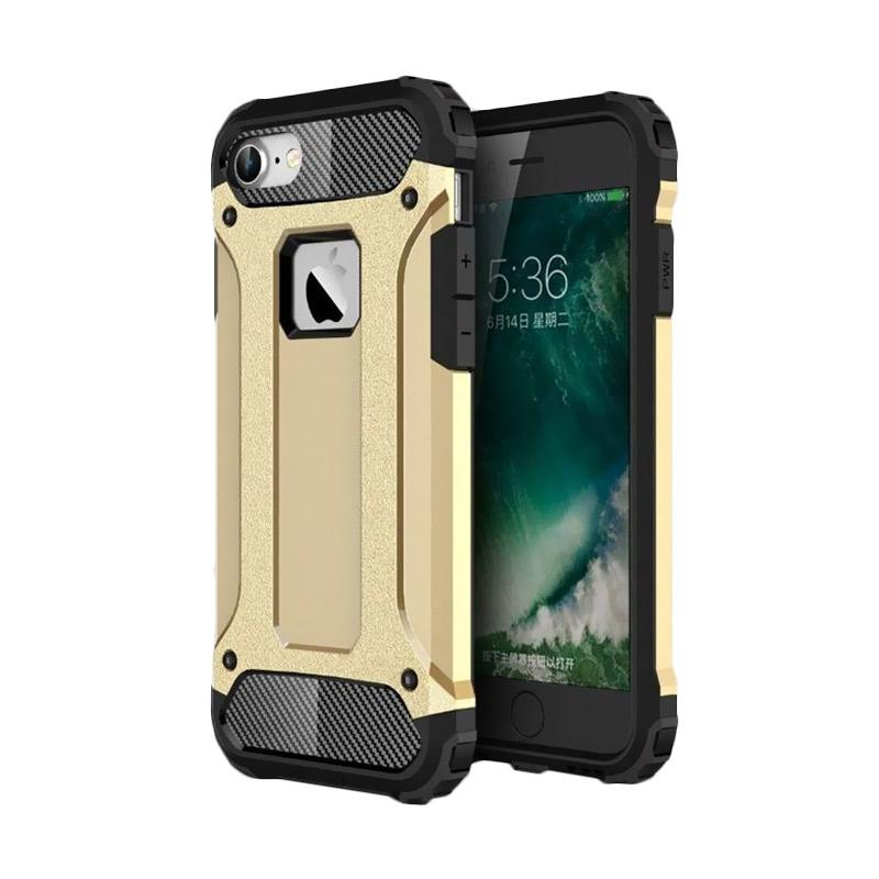OEM Transformers Iron Robot Hardcase Casing for iPhone 6 Plus 5.5 Inch - Gold