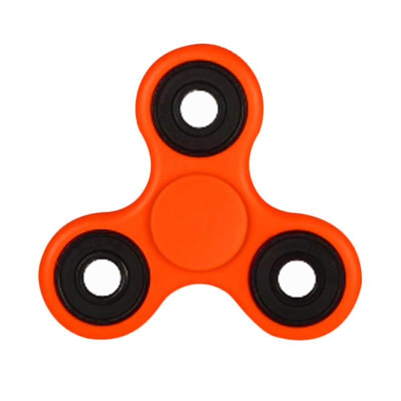 Aimons Hand Spinner Fidget Focus Toys Games Mainan Spinner Tangan - Orange