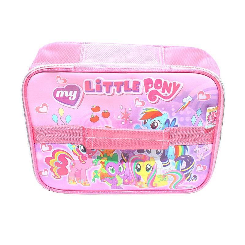 Istana Kado IKO725 Tenteng Alumunium Handbag L Little Pony Tas Anak - Pink