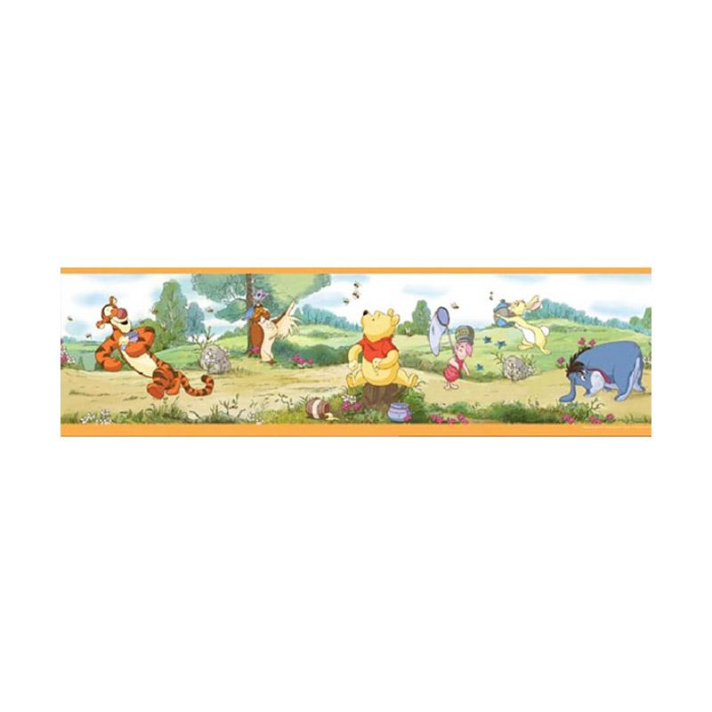 Hyundae Fixpix DT 23841 Someday In The Forest Border Sticker [17 cm x 5 m]