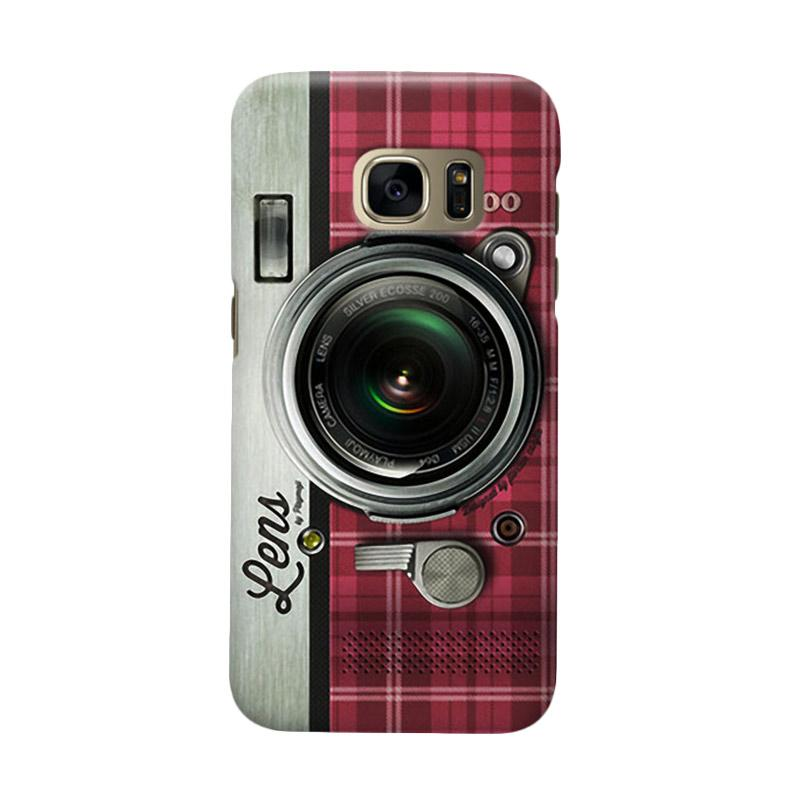 Indocustomcase Camera RS Cover Casing For Samsung Galaxy S6