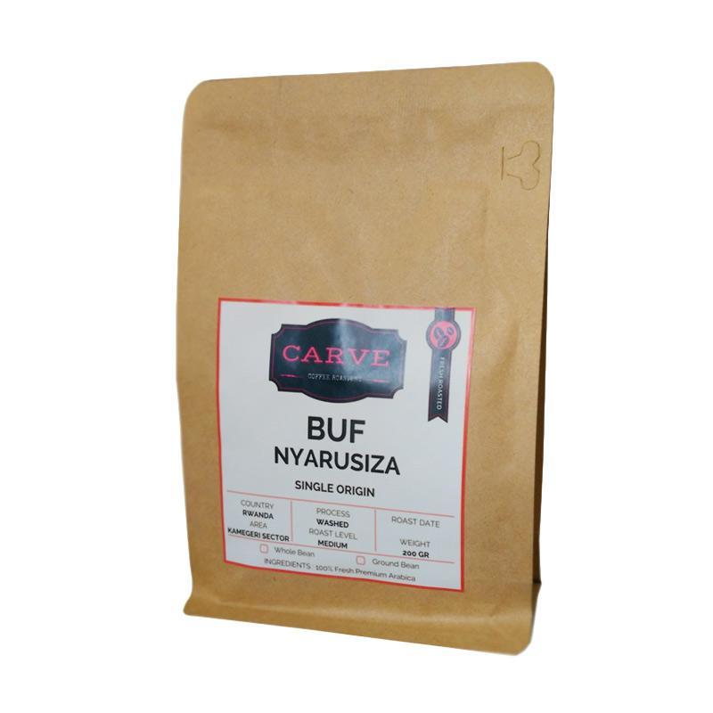 harga Carve Buf Nyarusiza Arabica Specialty Coffee Washed Rwanda Biji Kopi [200 g] Blibli.com