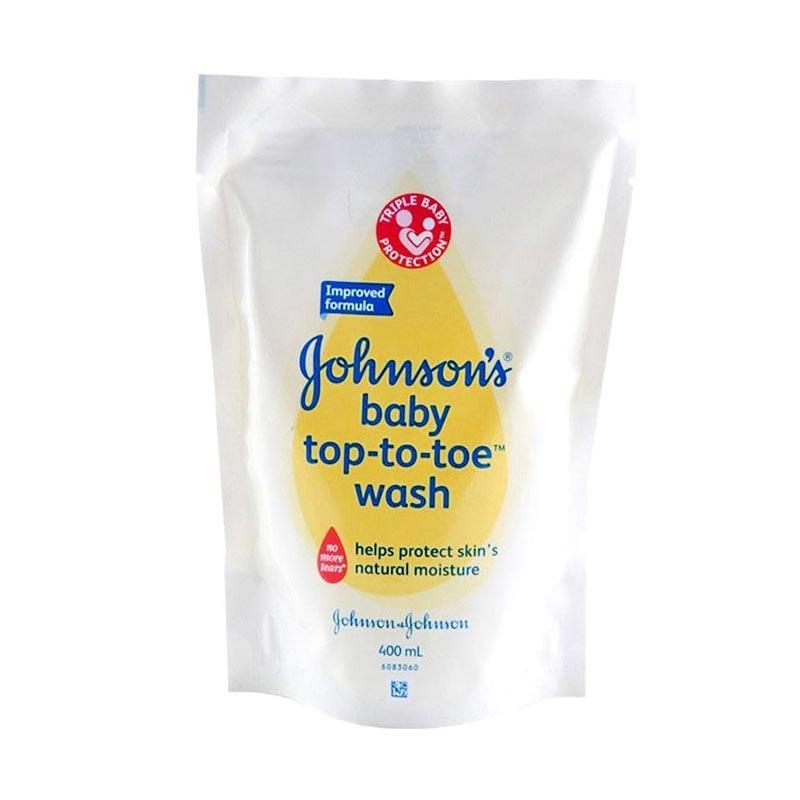 harga Johnsons Baby Top To Toe 2in1 Sabun dan Shampo Bayi Refill [400 mL] Blibli.com