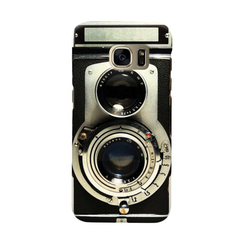 Indocustomcase Camera Casing for Samsung Galaxy S7 Edge