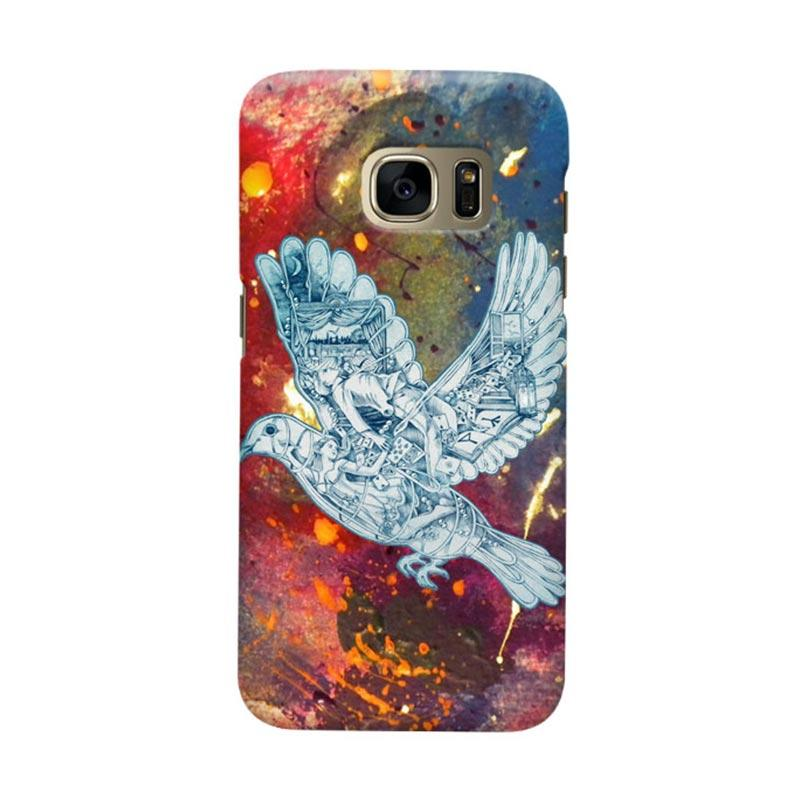 Indocustomcase Cold Play Cover Casing for Samsung Galaxy S6 Edge