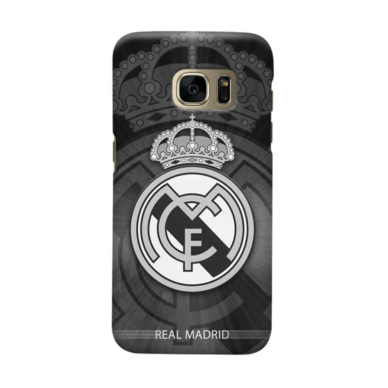 Indocustomcase Real Madrid FC RMA05 Casing for Samsung Galaxy S6 Edge