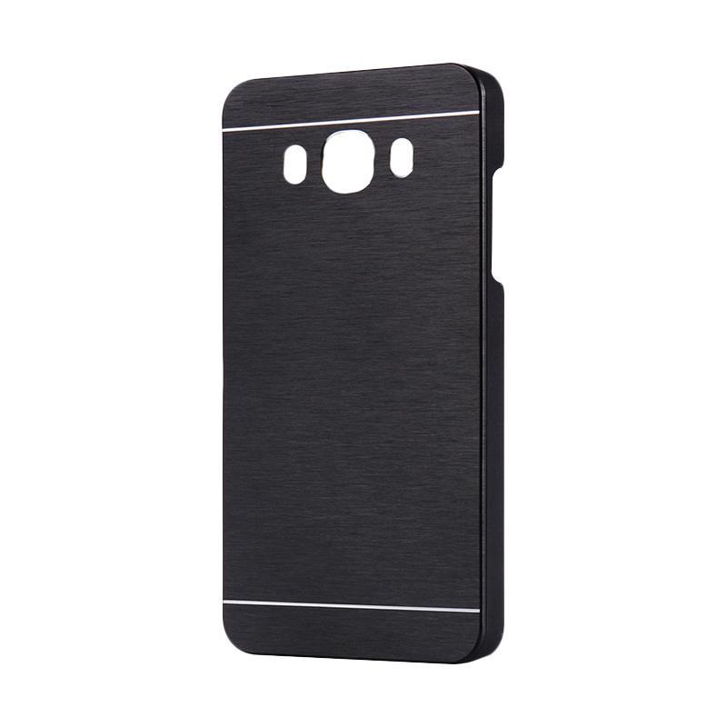 Motomo Metal Hardcase Backcase Casing for Samsung Galaxy Grand Prime G530 - Black