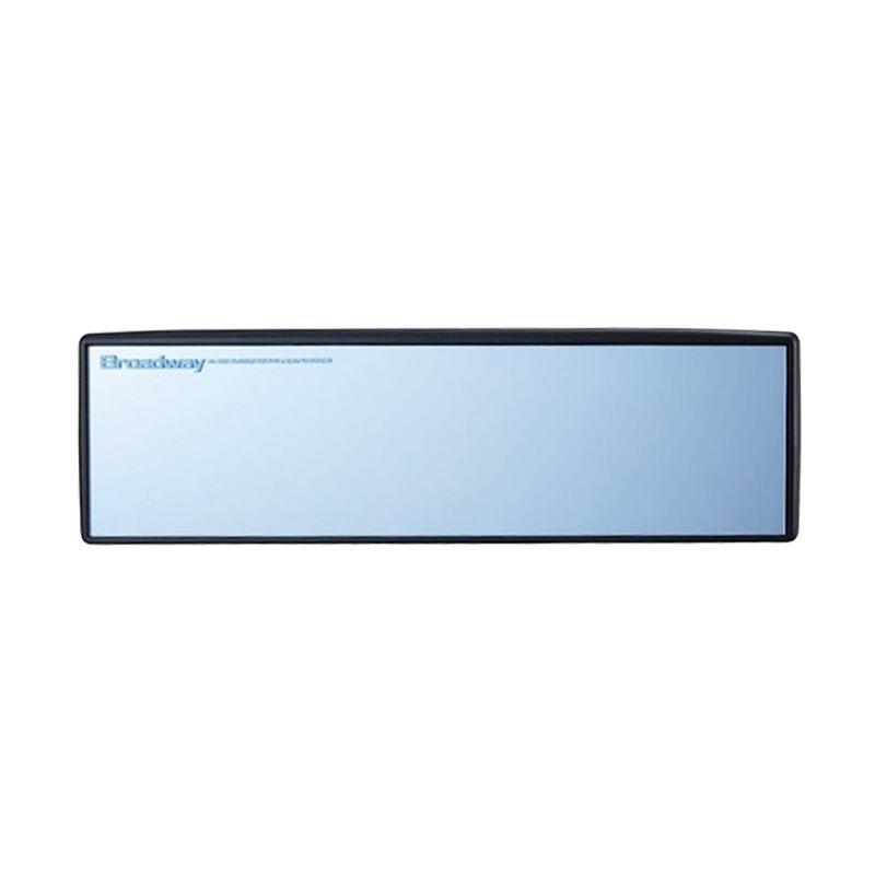 Broadway BW-156 Napolex Flat Mirror Wide Inside Rear View Mirror - Blue [300 mm]