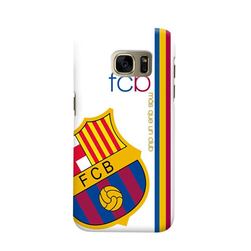 Indocustomcase FC Barcelona FCB01 Cover Casing for Samsung Galaxy S6