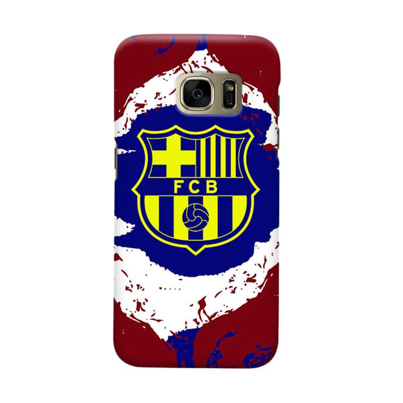 Indocustomcase FC Barcelona FCB11 Cover Casing for Samsung Galaxy S6