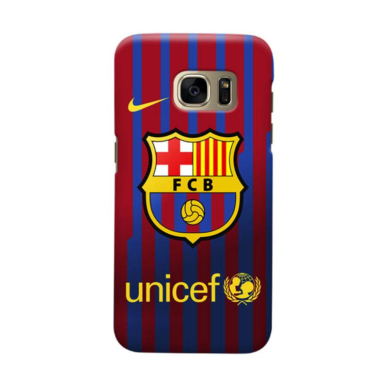 Indocustomcase FC Barcelona FCB10 Cover Casing for Samsung Galaxy S7