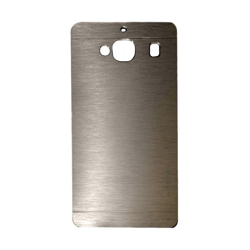 Motomo Metal Hardcase Backcase Casing for Xiaomi Redmi 2S or Redmi 2 Prime - Gold