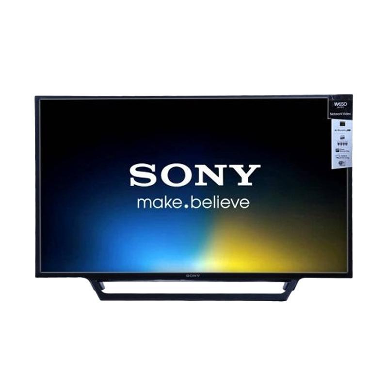SONY KDL-40W650D TV LED - Hitam [40 Inch]