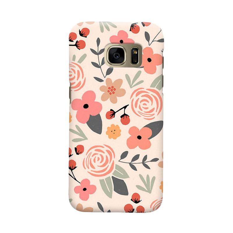 Indocustomcase Botanical Cover Casing for Samsung Galaxy S6