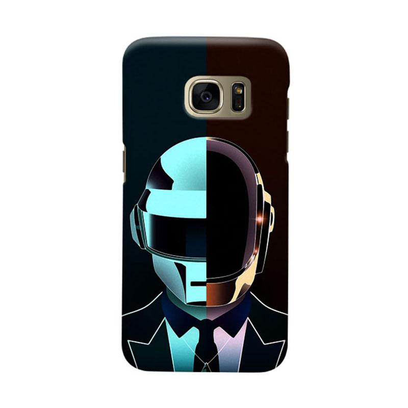 Indocustomcase Daftpunk Cover Casing for Samsung Galaxy S6 Edge
