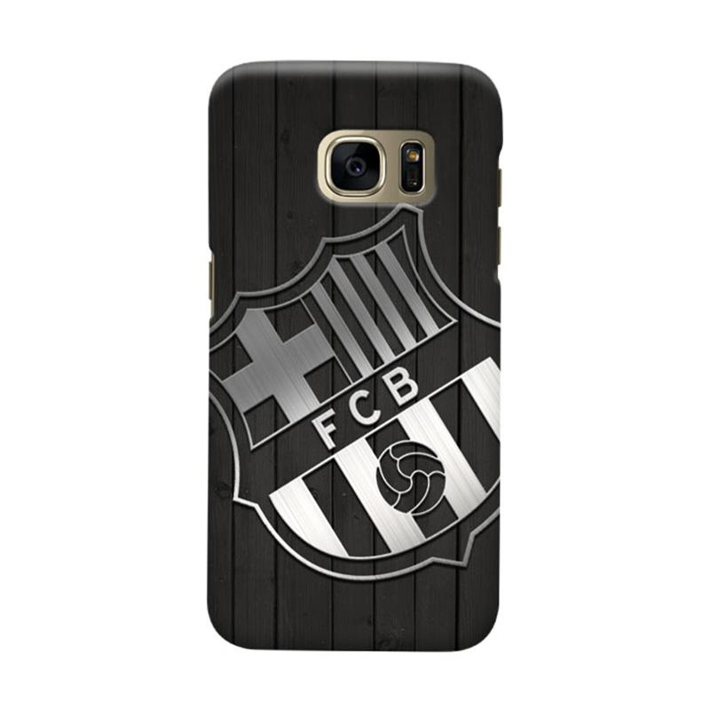 Indocustomcase FC Barcelona FCB02 Cover Casing for Samsung Galaxy S7