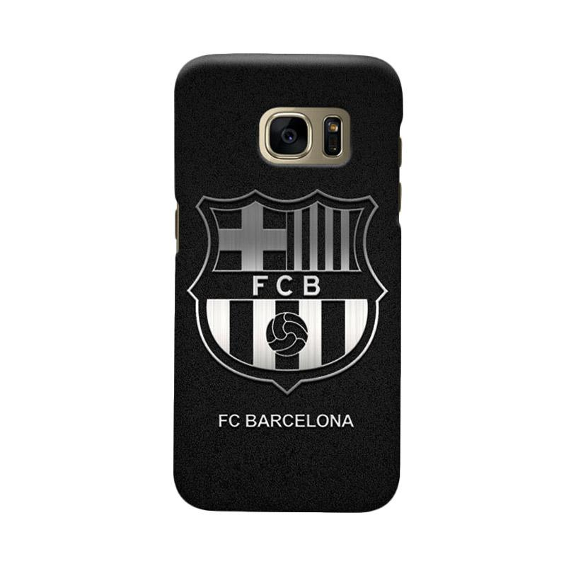 Indocustomcase FC Barcelona FCB03 Cover Casing for Samsung Galaxy S6