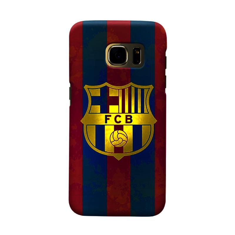 Indocustomcase FC Barcelona FCB12 Cover Casing for Samsung Galaxy S7