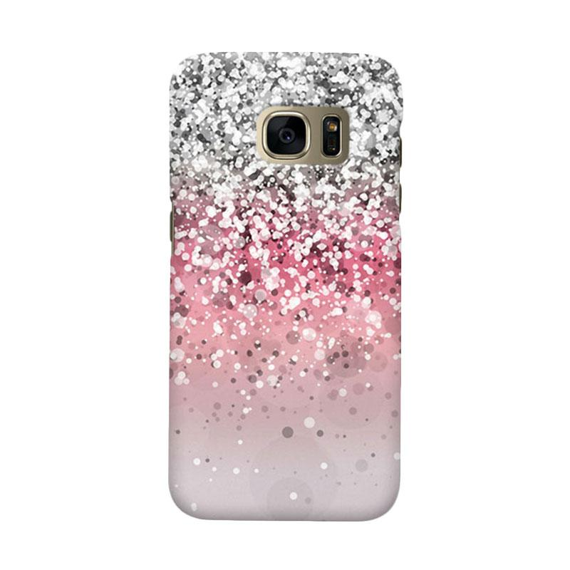 Indocustomcase Glitter 2 Cover Casing for Samsung Galaxy S7
