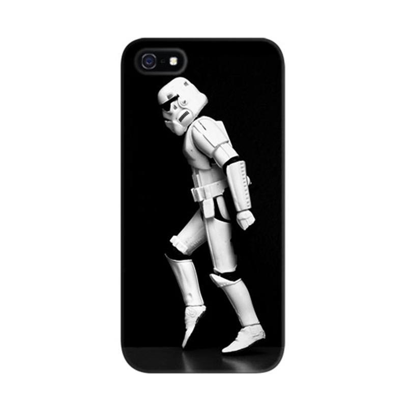 Indocustomcase Star Dance Custom Hardcase Casing for iPhone 5/5S/SE