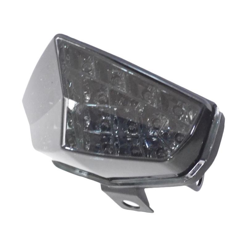 Raja Motor Lampu Stop Vixion-New LED 3 Warna dengan Sen- Mika Ribben [LAS3066]