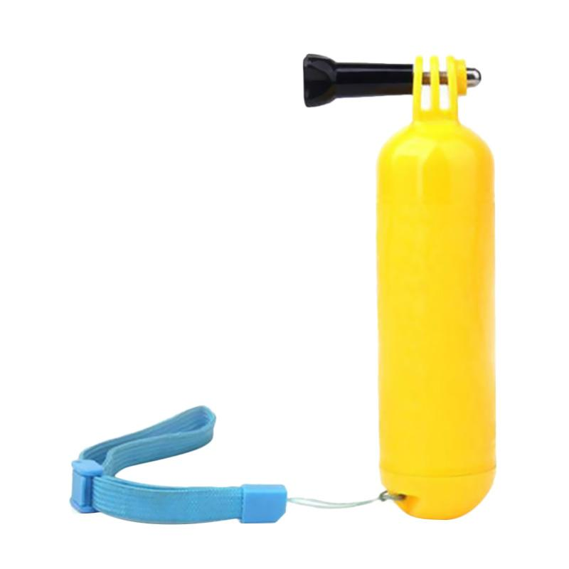 Action Cam Bobber Floating Hand Grip for GoPro/Brica B-PRO/Xiaomi Yi - Kuning