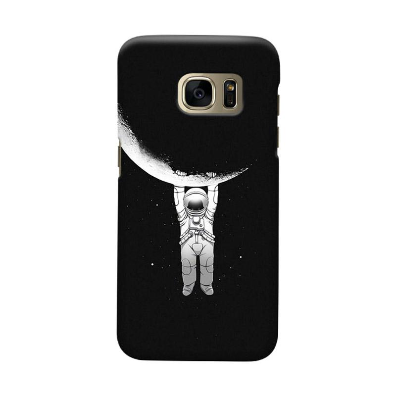 Indocustomcase Astronout Cover Casing for Samsung Galaxy S6