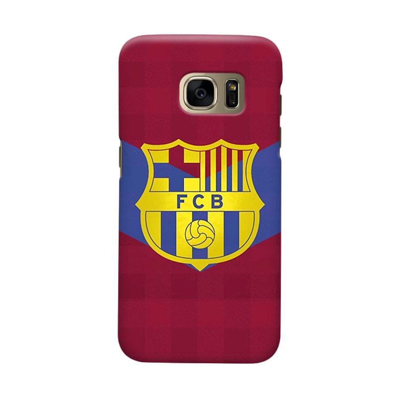 Indocustomcase FC Barcelona FCB13 Cover Casing for Samsung Galaxy S7