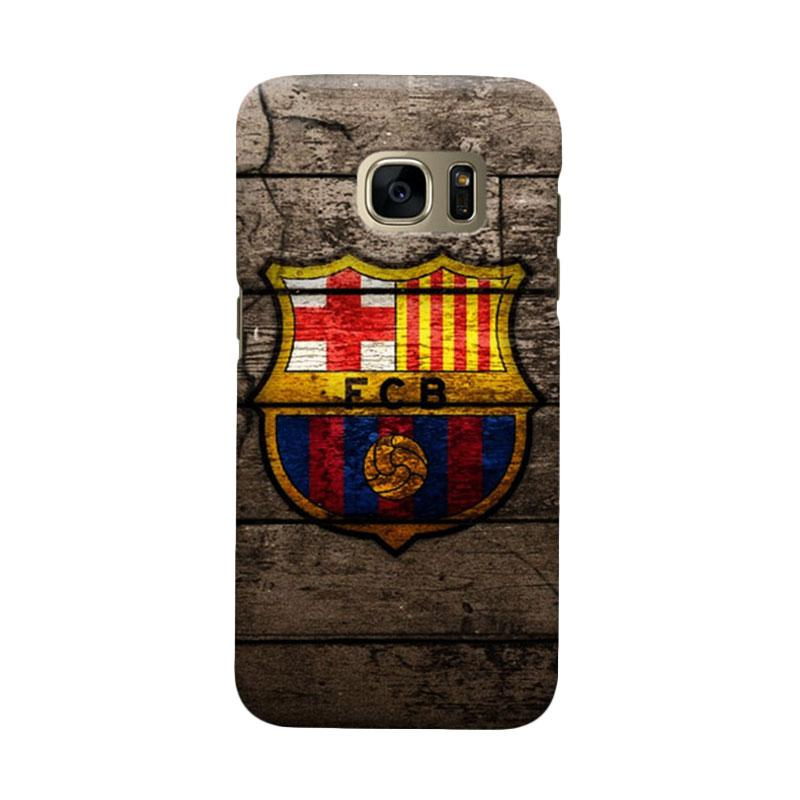 Indocustomcase FC Barcelona FCB14 Cover Casing for Samsung Galaxy S6