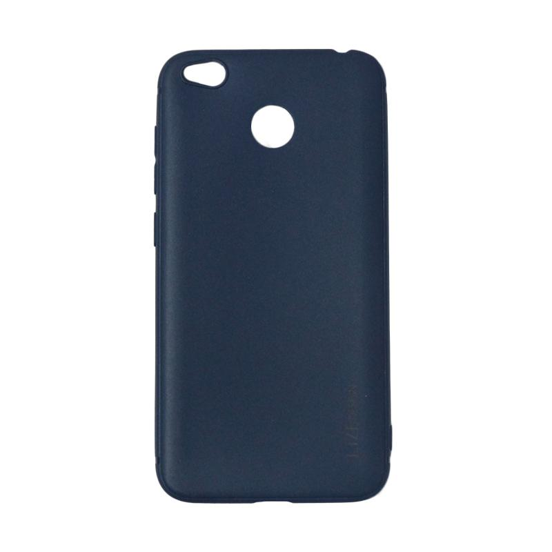 Lize Design Softshell Softcase Color Matte Casing for Xiaomi Redmi 4x - Navy