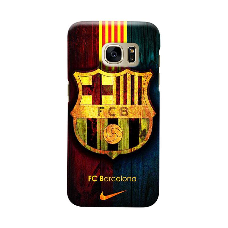Indocustomcase FC Barcelona FCB04 Cover Casing for Samsung Galaxy S7
