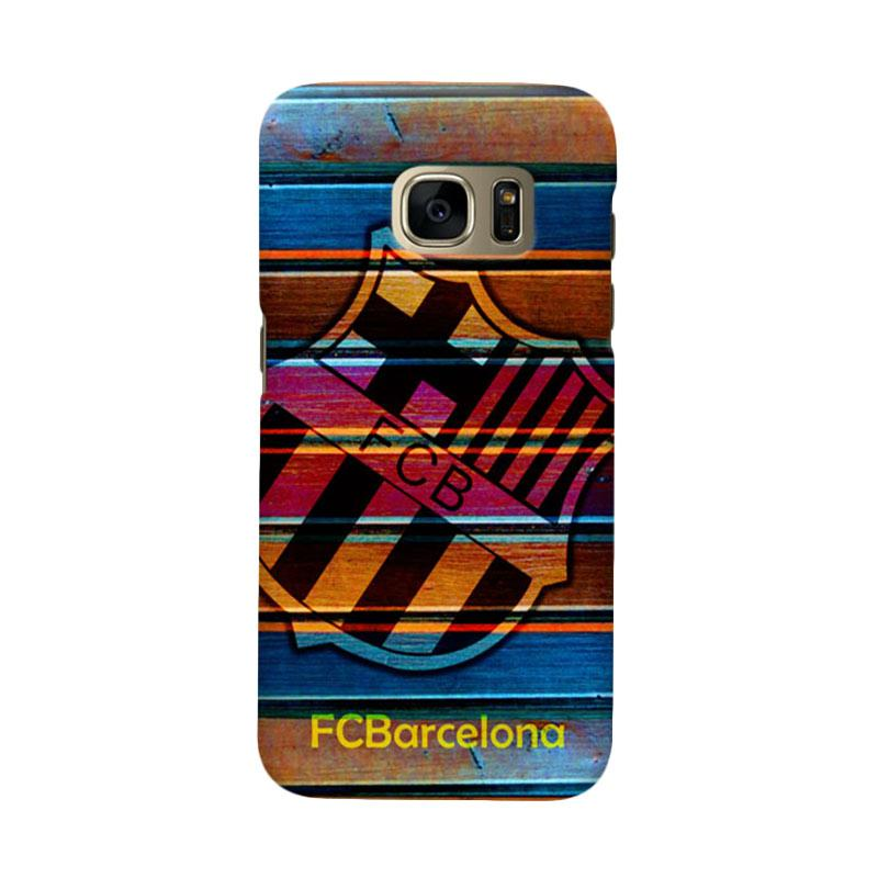 Indocustomcase FC Barcelona FCB05 Cover Casing for Samsung Galaxy S6