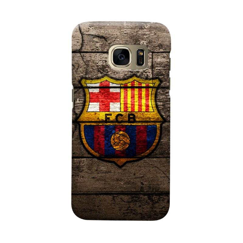 Indocustomcase FC Barcelona FCB14 Cover Casing for Samsung Galaxy S7