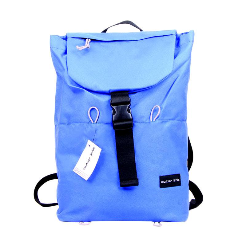 Outer Limit Sport Backpack BBP.18 Tas Ransel - Royal Blue & Grey Codura