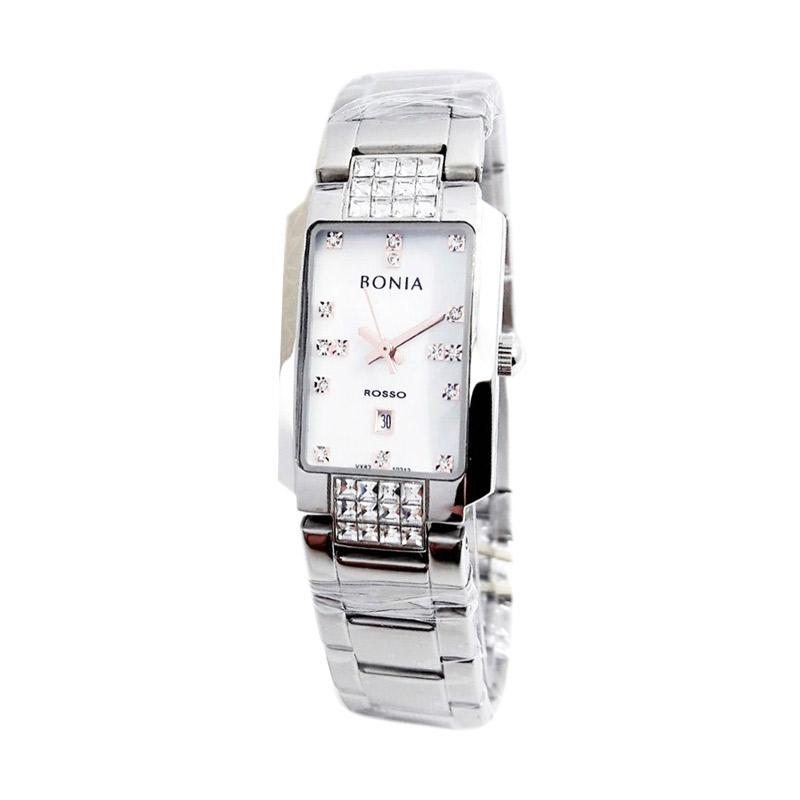 Bonia Rosso D20H825BN2347LSLVP Jam Tangan Wanita Chain .