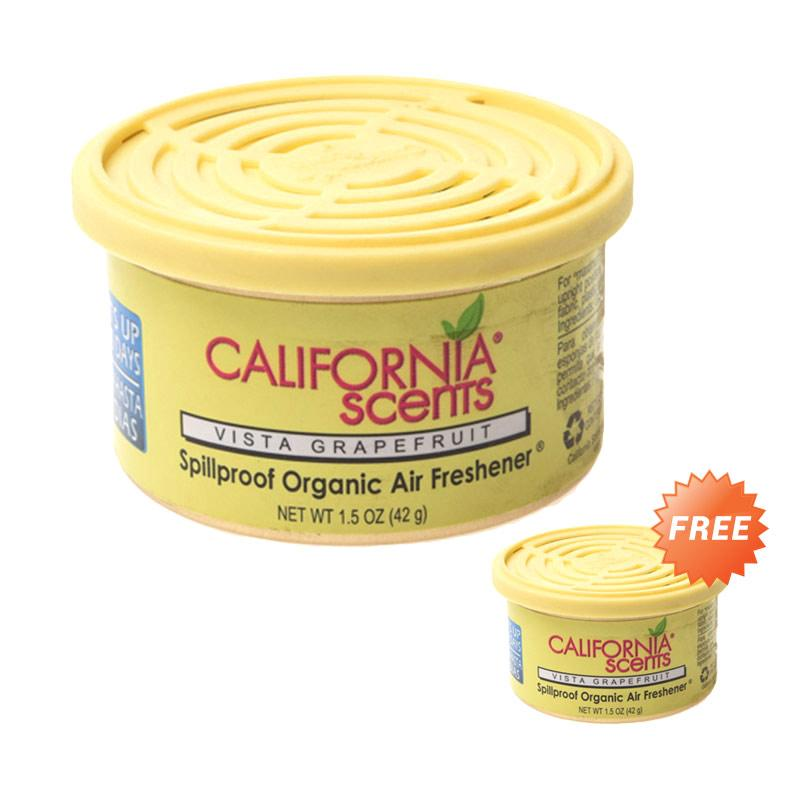 Buy 1 Get 1 California Scents Car Fragrance Vista Grapefruit Parfum Mobil