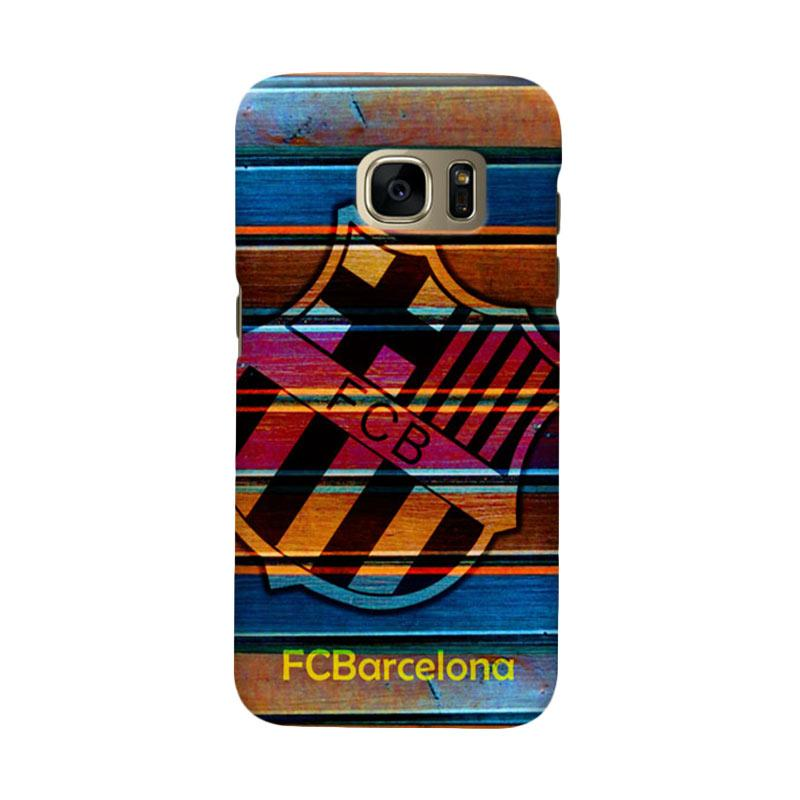 Indocustomcase FC Barcelona FCB05 Cover Casing for Samsung Galaxy S7