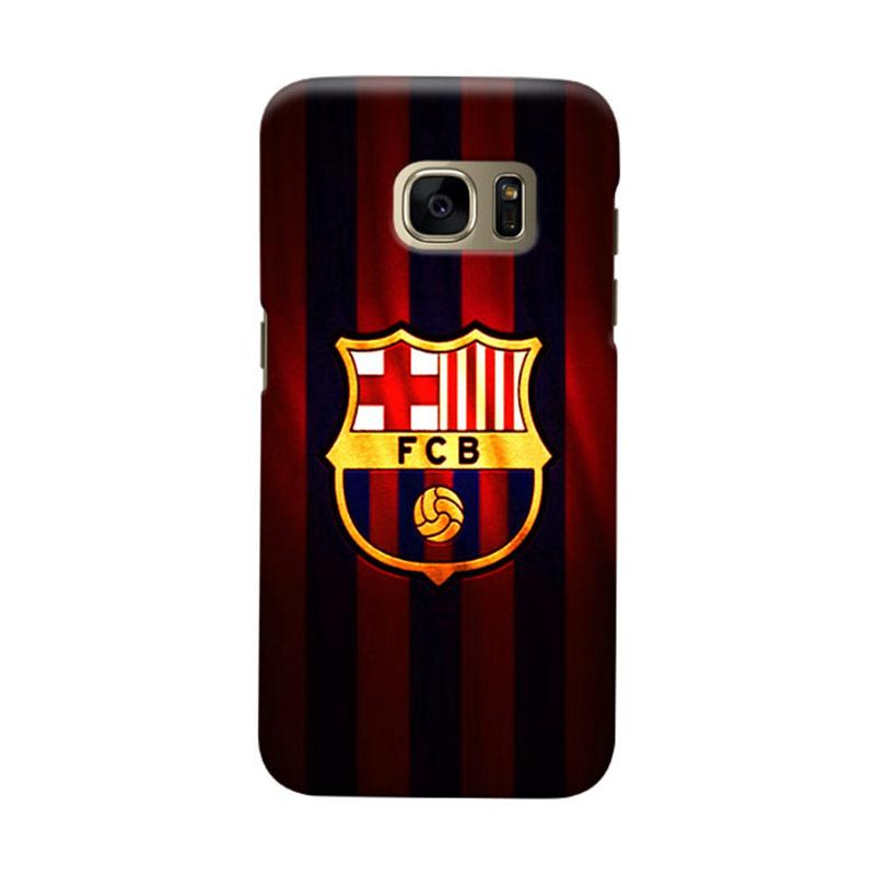Indocustomcase FC Barcelona FCB06 Cover Casing for Samsung Galaxy S6