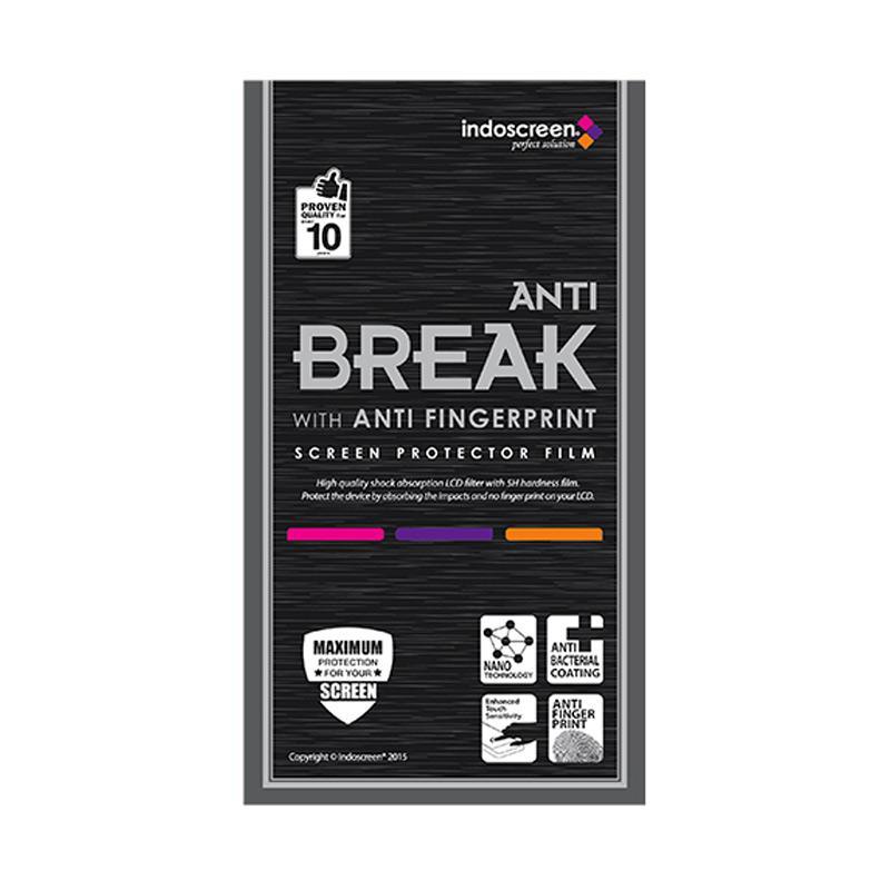Indoscreen Anti Break Screen Protector for Xiaomi Mi Note Bamboo - Clear