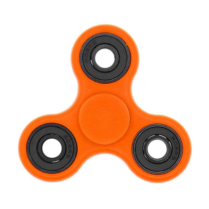 Berrisom Fidget Hybrid Black Ceramic Bearing Ball Spinner Hand Toys Focus Game - Orange