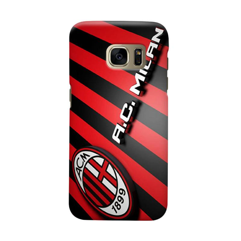 Indocustomcase AC Milan ACM05 Cover Casing for Samsung Galaxy S7 Edge