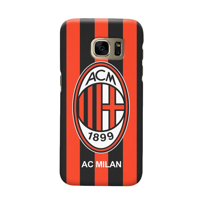 Indocustomcase AC Milan ACM06 Cover Casing for Samsung Galaxy S6 Edge