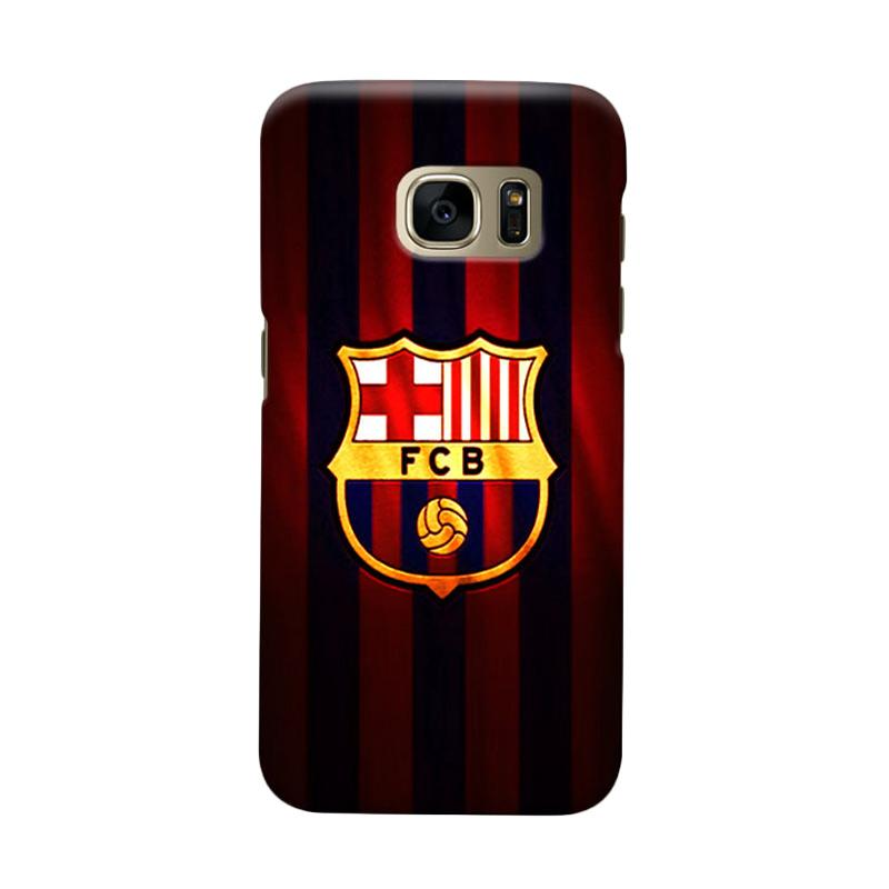 Indocustomcase FC Barcelona FCB06 Cover Casing for Samsung Galaxy S7