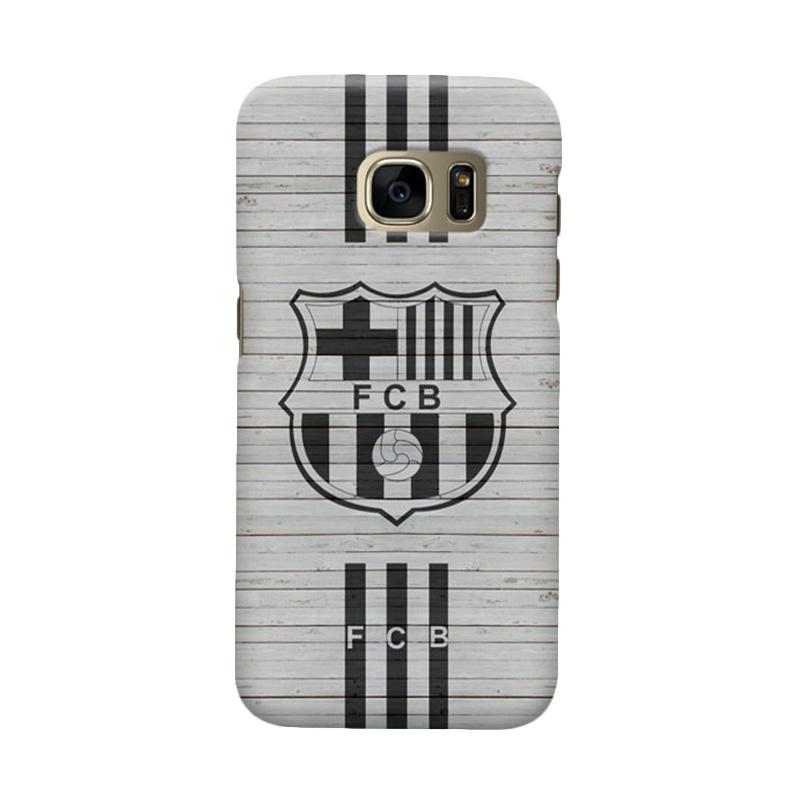 Indocustomcase FC Barcelona FCB07 Cover Casing for Samsung Galaxy S6