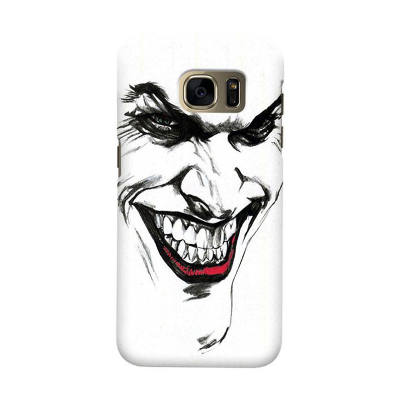 Indocustomcase Joker Cover Casing for Samsung Galaxy S6 Edge