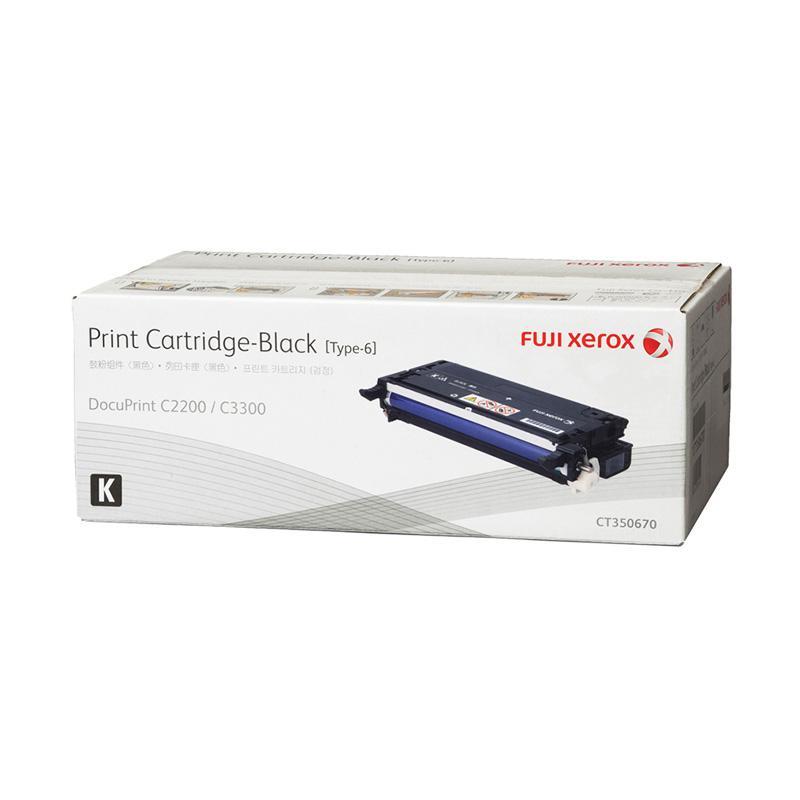Fuji Xerox CT350670 Toner for Printer Docuprint C2200 or C3300DX - Black