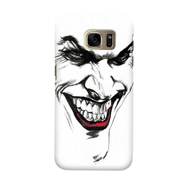 Indocustomcase Joker Cover Casing for Samsung Galaxy S7 Edge