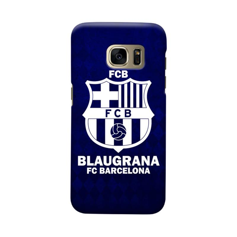 Indocustomcase FC Barcelona FCB08 Cover Casing for Samsung Galaxy S7